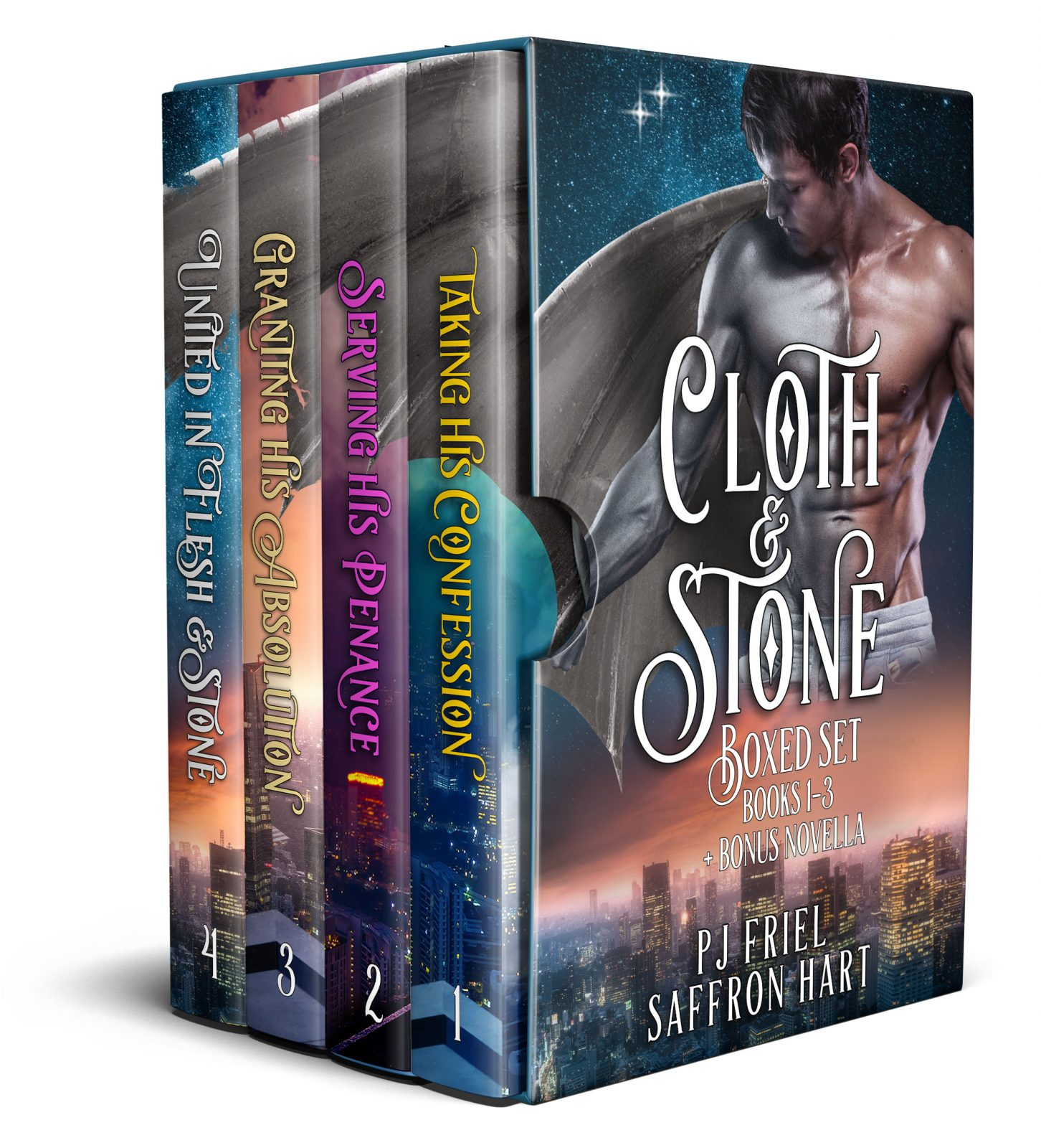 Book Cover: Cloth & Stone, the Complete Collection